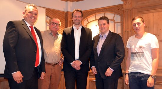 v.L.: D.Steinrode, R.Schmid, R.Repasi, A.Röhm, M.Ackermann